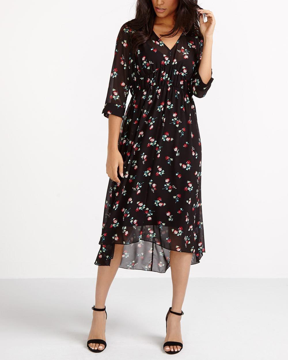 Chiffon Printed Dress
