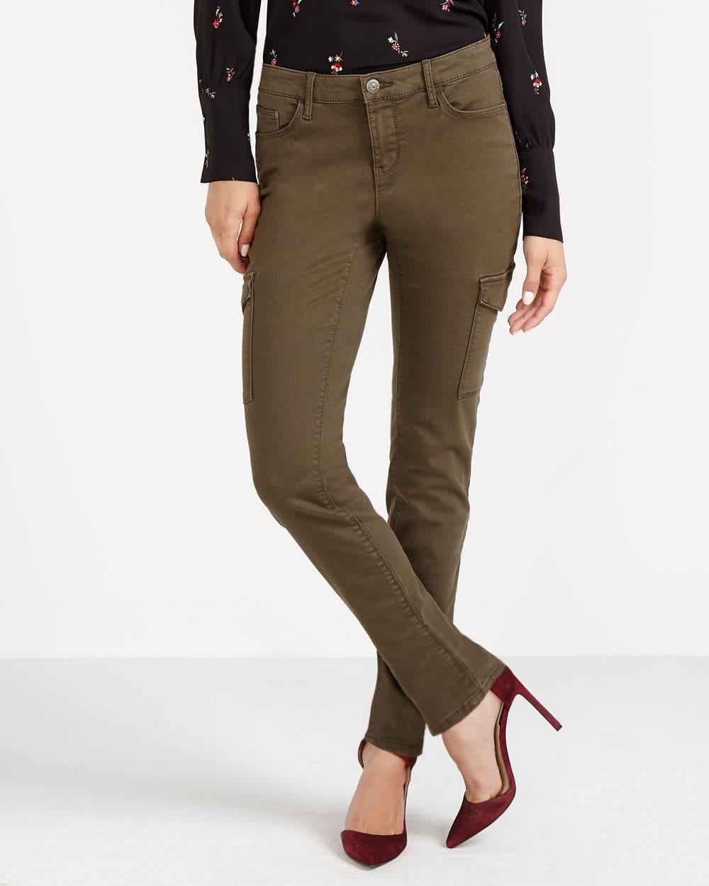 Petite Cargo Skinny Jeans