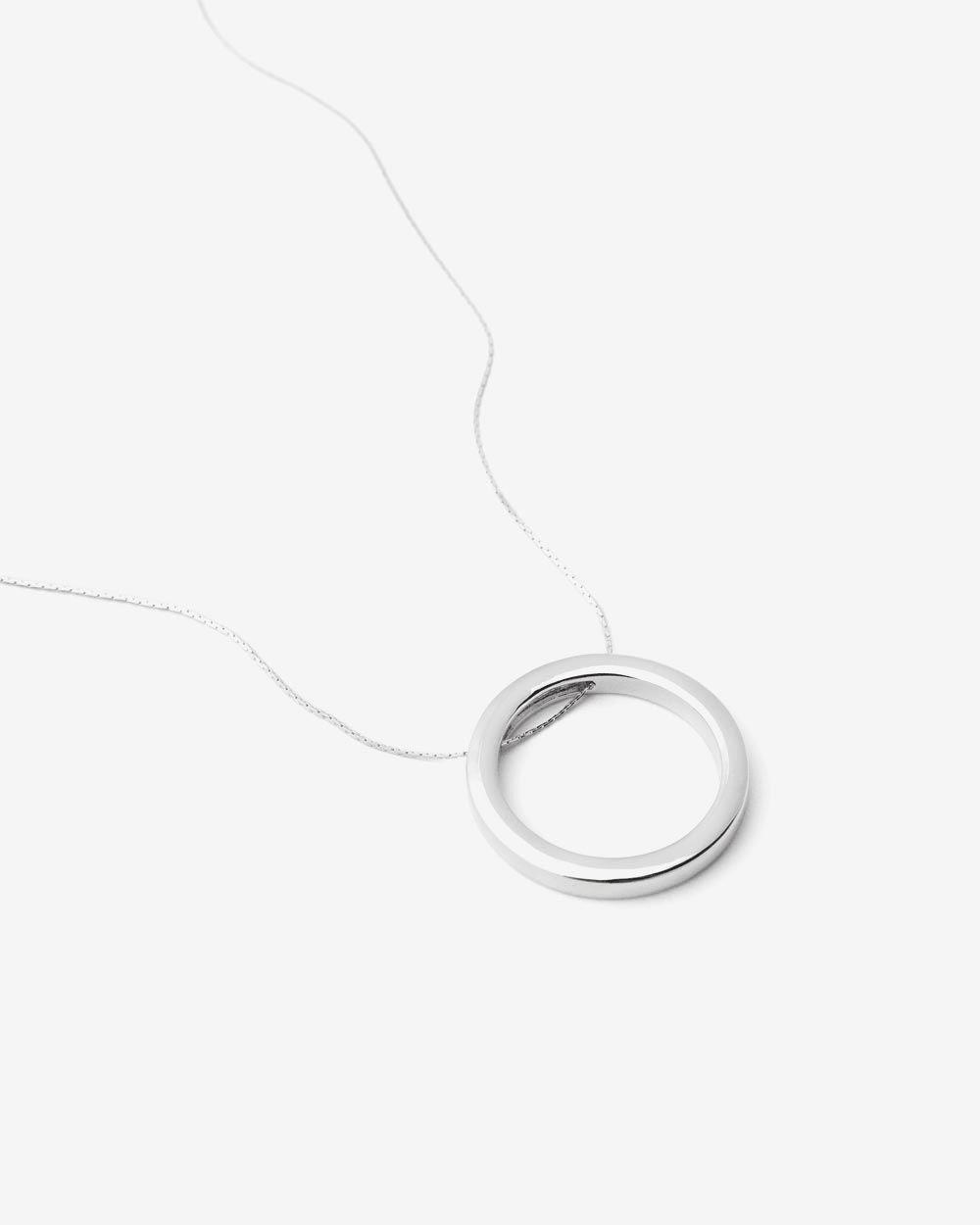 Collier à pendentif de cercle