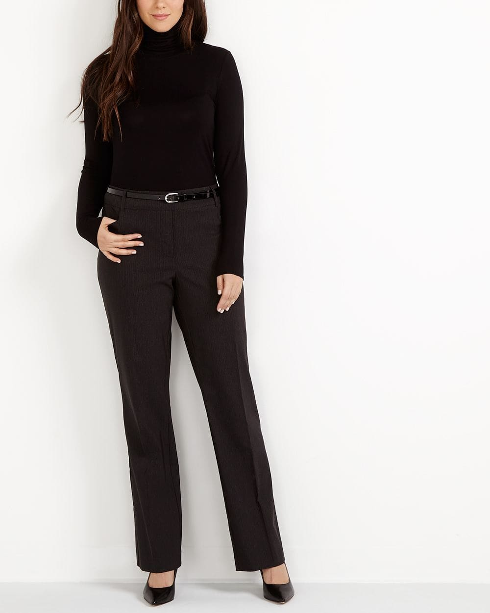 The Tall Iconic Boot Cut Striped Pants