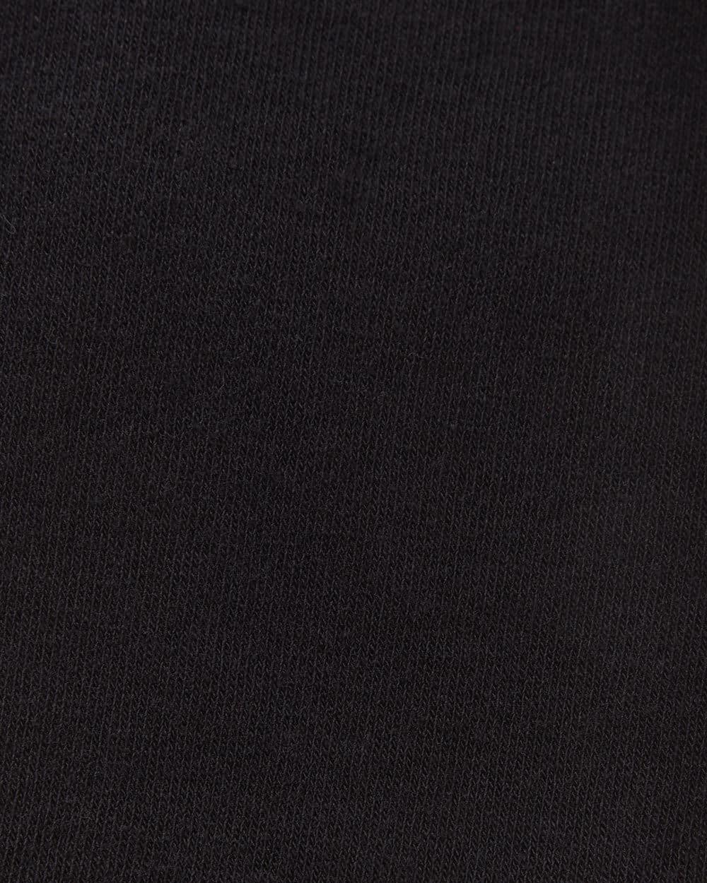 3-Pair Set of Black Socks