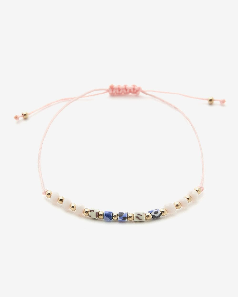 Bracelet en corde avec perles Hyba