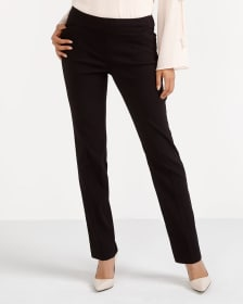 The Petite Iconic Pattern Straight Leg Pants