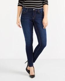 The Petite Insider Dark Wash Skinny Jeans