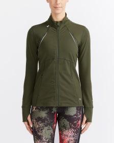 Hyba Perforated Running Jacket