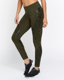 Hyba Printed Compression Legging