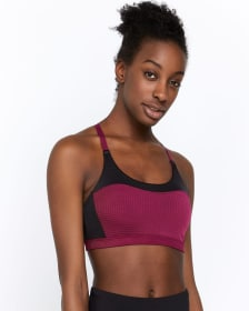 Hyba Airtech Perforated Low-Support Sports Bra