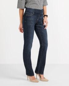 Jeans à jambe droite L'Authentique Confort