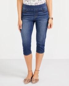 Capri en jeans
