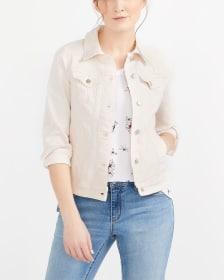 Light Pink Jean Jacket