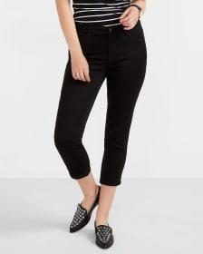 The Petite Signature Soft Black Cropped Jeans