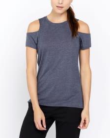 T-shirt à épaules dénudées Hyba
