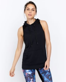 Hyba Sleeveless Hooded Sweatshirt
