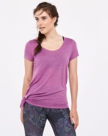 T-shirt avec noeud Hyba