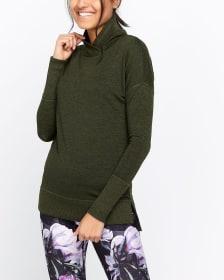 Hyba Crossover Neck Sweatshirt