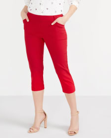 The Solid Iconic Capri Pants