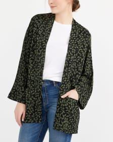 Kimono Blouse with ¾ Sleeves