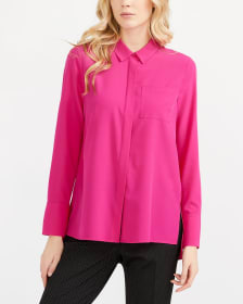 Willow & Thread Solid Tunic Shirt