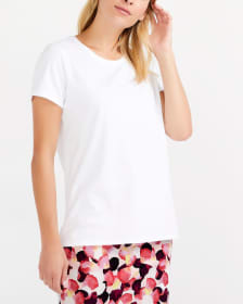 T-shirt uni en coton pima Willow & Thread