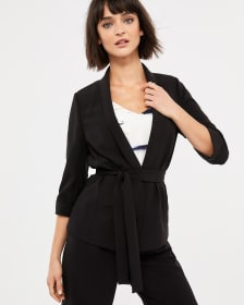 Willow & Thread Soft Blazer with Sash