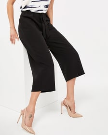Willow & Thread Elastic Waist Gaucho Pants