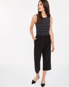 Willow & Thread Sleeveless Striped Top