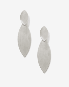 Brushed Earrings