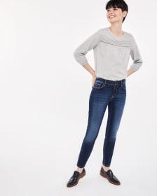 The Skinny Blue-Black Sculpting Jeans