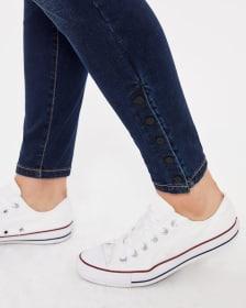 The Tall Skinny Blue-Black Sculpting Jeans