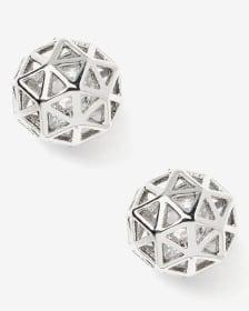 Boutons d'oreilles géométriques