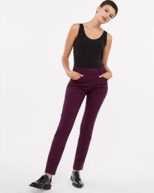 Pantalon à jambe droite coloré L'Iconique