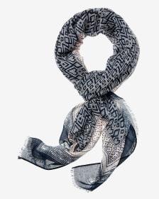 Foulard à motif géométrique