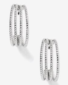 4-Layer Hoop Earrings