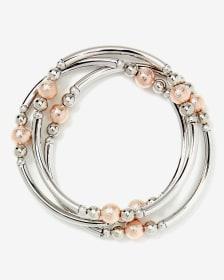 Ensemble de 3 bracelets élastiques à billes