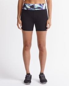 Hyba Printed Biker Shorts
