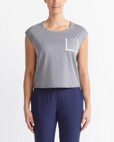 T-shirt court avec poche Hyba