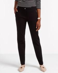 Pantalon à jambe droite Le Stretch Moderne