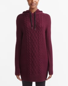 Hyba Knit Hoodie Dress