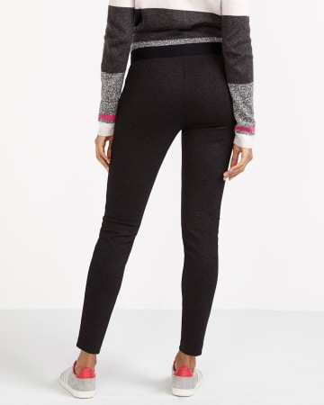 Petite Twill Novelty Leggings