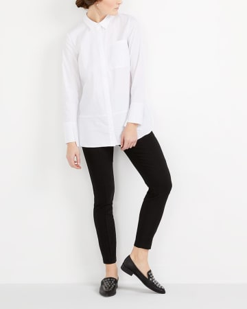 Asymmetric Cuff Shirt