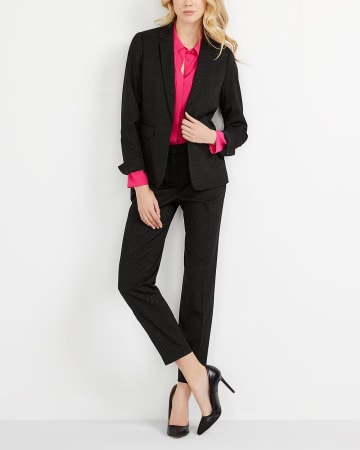 Willow & Thread Polka Dot Blazer