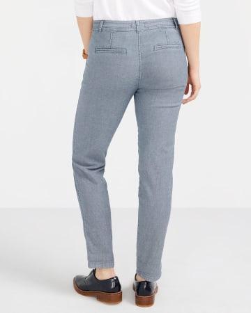 Pantalon Chino à chevrons Petite