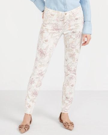 Skinny Printed Jeans