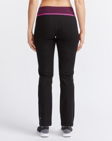 Pantalon droit à couleurs contrastantes Hyba