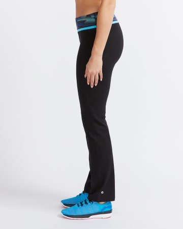 Hyba Printed Straight Leg Pants