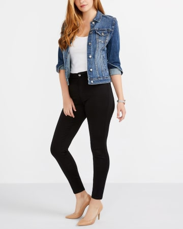 The Tall Signature Soft High-Rise Ankle Jeans