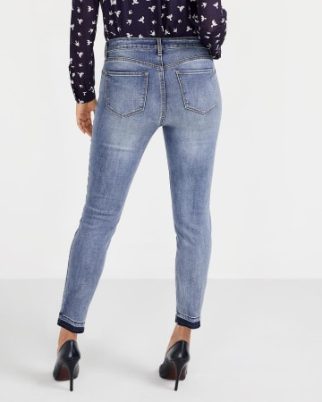 The Tall Released Hem Sculpting Ankle Jeans