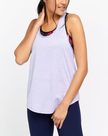 Hyba Twisted Back Tank Top