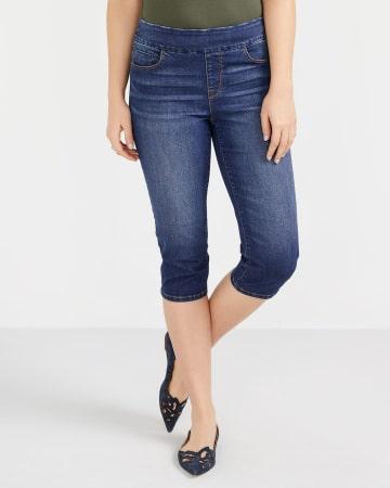Petite Capri Jeans