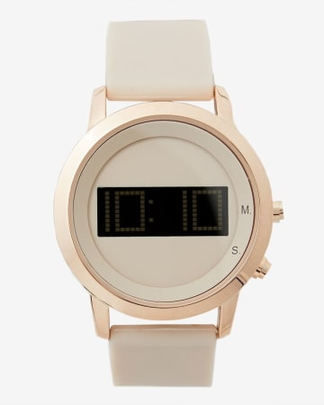 Digital Dial Wristwatch